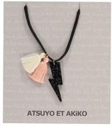 Atsuyo et Akiko Tracy Lightning Pompom Necklace