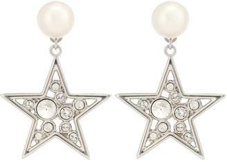 Miu Miu Crystal-embellished earrings