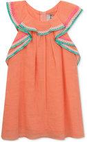 Rare Editions Ruffled Cotton Dress, Toddler & Little Girls (2T-6X)