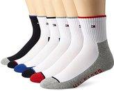 Tommy Hilfiger Men's 6 Pack Quarter Sock