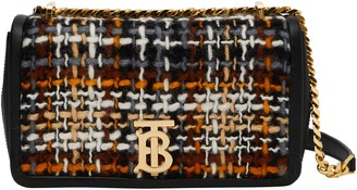 Burberry Small Lola Woven Leather Bag