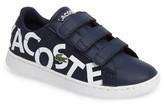 Lacoste Infant Boy's Carnaby Evo Sneaker
