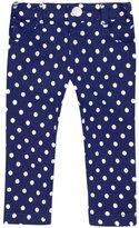 Jo-Jo JoJo Maman Bebe Stretch Skinny Jeans (Baby) - Navy/Cream Dot-18-24 Months