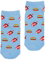 Dotti Burger N Coke Ankle Sock