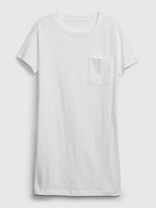 Gap Easy Pocket T-Shirt Dress