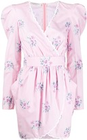 Philosophy di Lorenzo Serafini floral print wrap dress