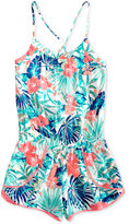 Roxy Jungle-Print Romper, Big Girls (7-16)