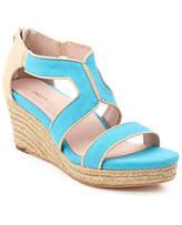 Taryn Rose Karsen Woven Wedge Sandal