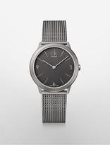 Calvin Klein Minimal Mesh Watch