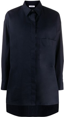 P.A.R.O.S.H. Casual Oversized Shirt