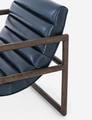Lulu & Georgia Huxley Leather Accent Chair