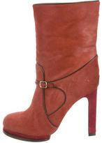 Chloé Ponyhair Ankle Boots