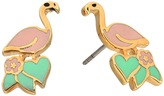 Marc Jacobs Charms Paradise Flamingo Studs Earrings Earring
