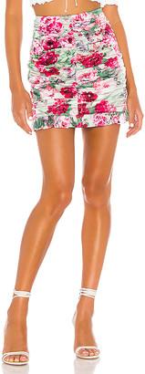 For Love & Lemons Robin Mini Skirt