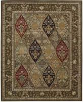 """Nourison Wool & Silk 2000 2292 Multicolor 9'9"""" x 13'9"""" Area Rug"""