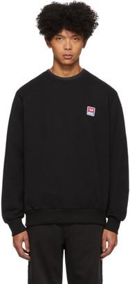 Diesel Black Gir-Div-P Sweatshirt