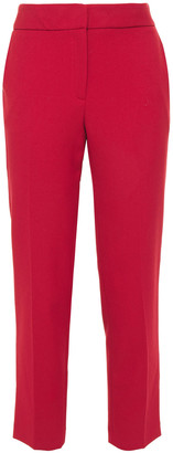 Claudie Pierlot Cropped Twill Tapered Pants