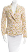 3.1 Phillip Lim Leopard Patterned Notch-Lapel Blazer w/ Tags