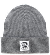 Diesel ribbed beanie - men - Cotton/Wool - One Size