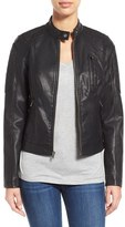 Women's Levi's Quilt Detail Faux Leather Racer Jacket