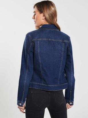 Very Denim Western Jacket - Dark Wash
