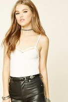 Forever 21 FOREVER 21+ Strappy Cropped Cami