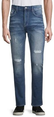 Buffalo David Bitton Max X Distressed Skinny Jeans