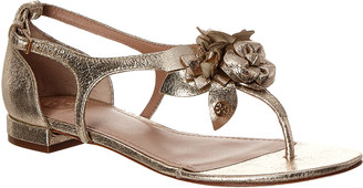 Tory Burch Blossom Leather Sandal