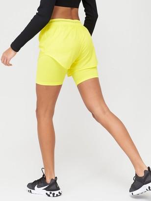 Nike Air Running 2in1 Shorts - Yellow