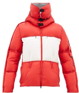 5 Moncler Craig Green - Coolidge High-neck Down-filled Padded Jacket - Red White