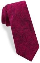 Ted Baker Men's Paisley Silk Skinny Tie