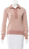 Marc Jacobs Cashmere & Wool-Blend Striped Sweater