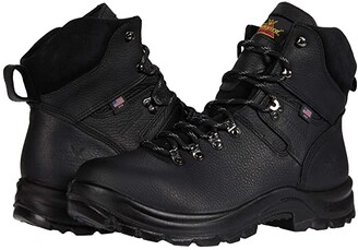 Thorogood 6 American Union Waterproof Steel Toe (Black) Men's Shoes