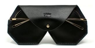 Neon Hope Sunglasses Case - Black