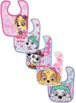 "Paw Patrol Baby Girls' ""Skye High!"" 5-Pack Bibs"