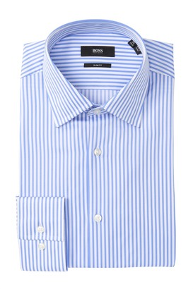 HUGO BOSS Jango Striped Slim Fit Dress Shirt