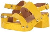 Love Moschino Chunky Wooden Sandal Women's Dress Sandals