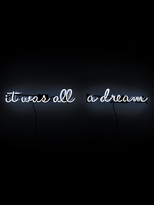 Oliver Gal It Was All a Dream Neon Signs (2 PC)