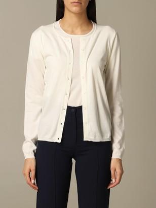 Cruciani Cardigan Long-sleeved Cotton Cardigan