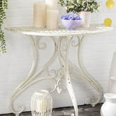 Corder End Table Lark Manor Color: Antique White