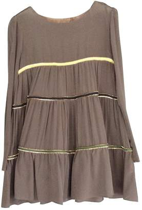 ELLA LUNA \N Brown Silk Dress for Women