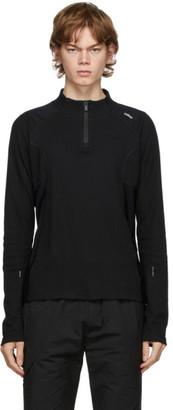 C2H4 Black Intervein Long Sleeve T-Shirt
