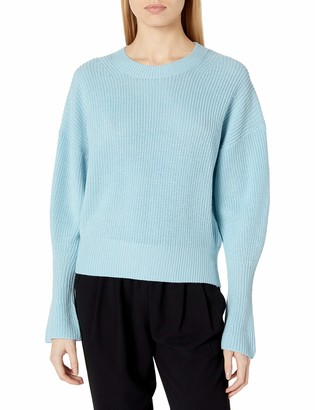 Joie Women's Knit Sweater with Long Bell Sleeves