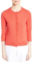 Kate Spade Women's Scallop Silk Blend Cardigan