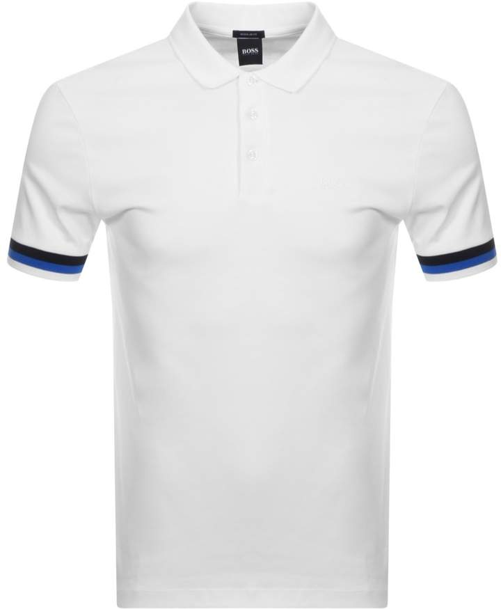 c1c8a1e4 Blue Polo Shirt Black Trim - ShopStyle UK