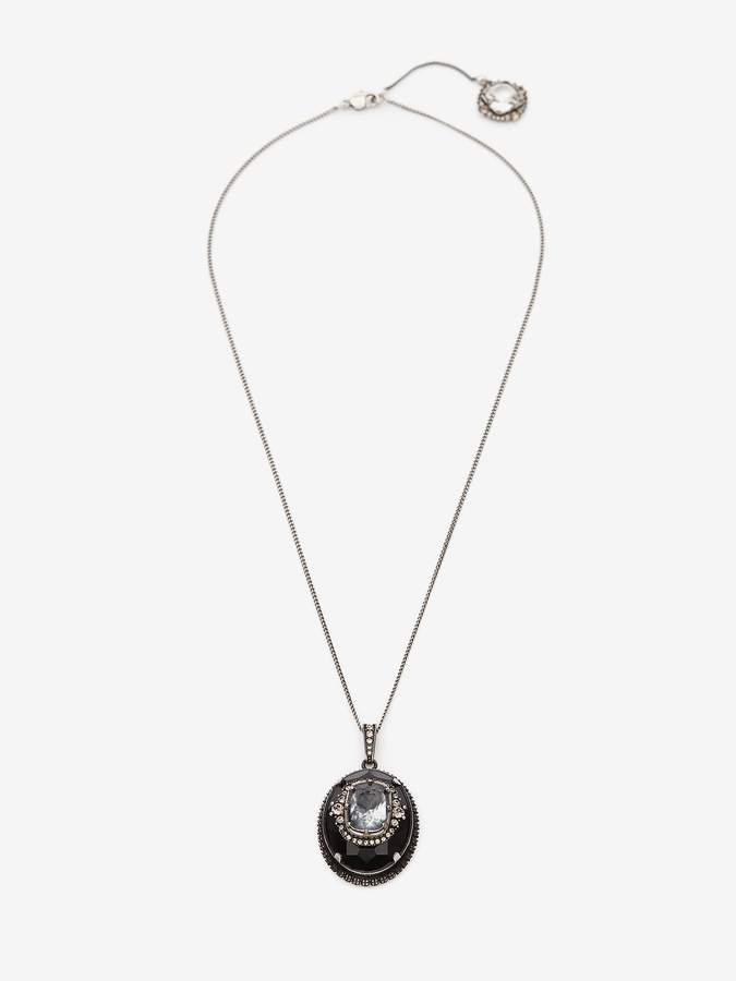 Alexander McQueen Jewelled Pendant