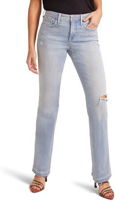 NYDJ High Waist Released Hem Flare Jeans