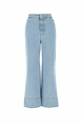 Loewe Cropped Flare Jeans