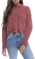 Endless Rose Scallop Hem Sweater