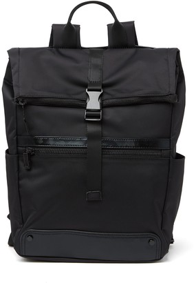 Steve Madden Nylon Roll Top Backpack